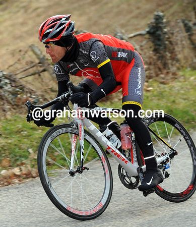 Is Levi Leipheimer biding his time in P-N, or just training his way to form for the Tour of California..?