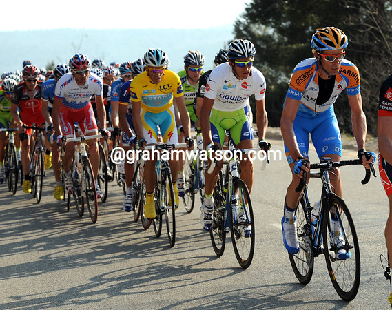 Garmin's David Millar looks well-placed ahead of Kreuziger and Contador - is there a plan being hatched..?
