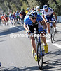 The attacks are starting on the Col d'Eze - Rein Taamarae makes his effort...