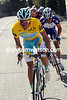 Alberto Contador then makes his effort - and blows the race to pieces..!