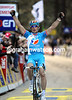 Perrick Fedrigo has won stage one of the Criterium International - eleven seconds ahead of Machado...