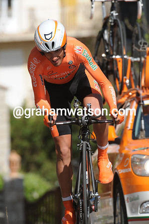 Benat Intxausti was the big surprise of the day - the Basque took 5th place at 11-seconds...
