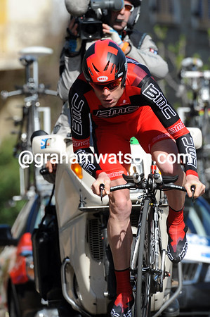 Cadel Evans was disappointed with taking 8th place at 12-seconds...