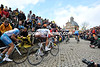 The lesser stars still race to their limits on the spectator-packed Mur de Grammont...