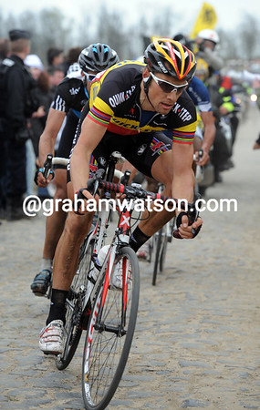 Tom Boonen also has an interest in 2nd and third places...