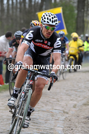 Hushovd is probably the only man capable of chasing and catching Cancellara...
