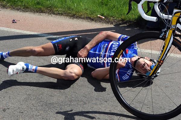 Dario Cataldo is one of many crash victims on today's narrow roads...