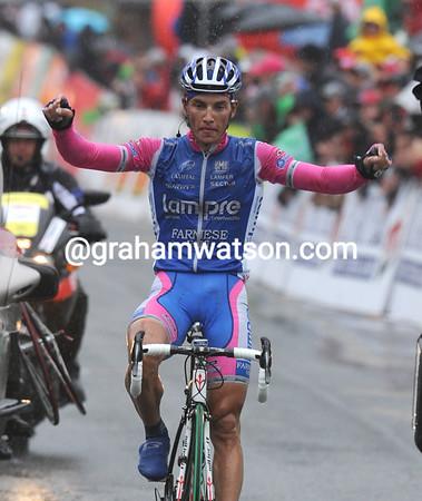 Simon Spilak wins stage four into Chatel...