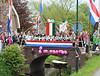 Dutch fans cheer the Italian race as it heads into Utrecht for the last 35-kilometres...