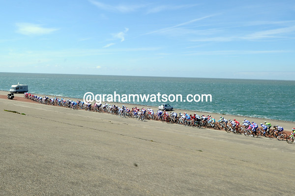 The chasing group traverses the north sea coast in desperate pursuit...
