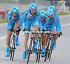 """BBox weren't much better than Caisse - the French team finished 17th at 2' 19""""..."""