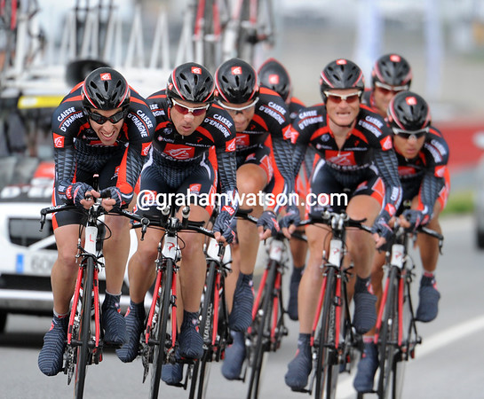 """Caisse d'Epargne finished in a lowly 18th place, at 2' 21""""..."""