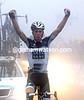 Chris Anker Sorensen wins stage eight atop the Terminillo pass...
