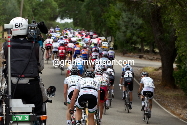 Nope - no urgency in the peloton...