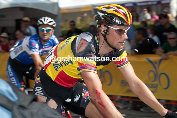 ...which also caught out Tom Boonen.