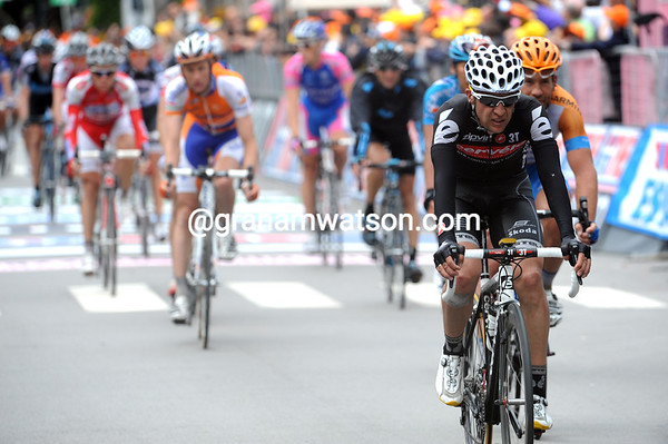 Carlos Sastre has lost more time today - will the Spaniard even finish this Giro..?