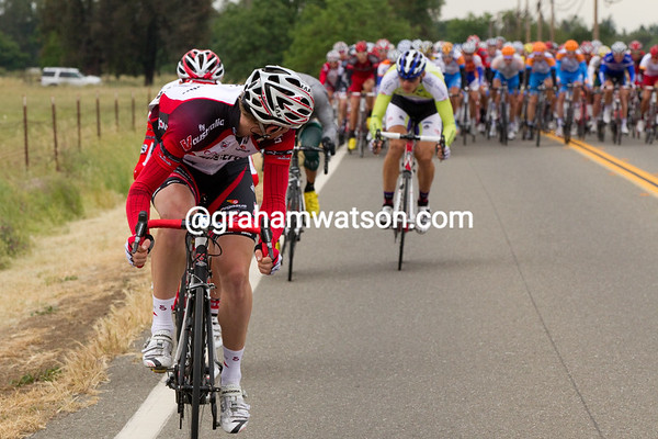 The first move comes from Thomson of Fly V Australia - taking a flyer a few miles outside of Davis.