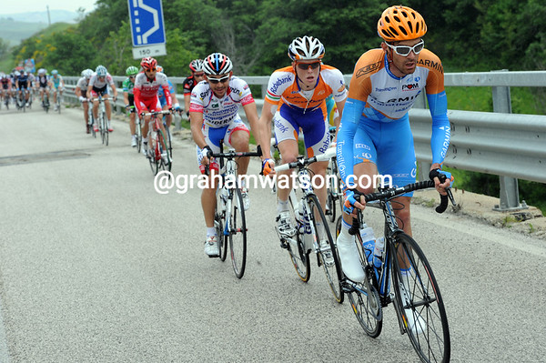 David Millar matches Gerrdemann and takes more riders away...