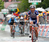 Evgeni Petrov wins stage eleven into L'Aquila at the end of a memorable day's racing...