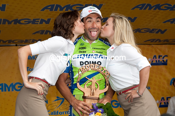 Chicchi has sure made his american bike sponsor very happy today.