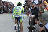 Basso is the hero of the Italian tifosi - their cheers at Corones lifted their man's efforts all the more...