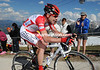 Cadel Evans placed second today at 42-seconds - he is in 4th place overall now...