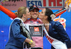 David Arroyo is still enjoying his life as race-leader of the Giro d'Italia...