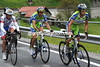 Nibali, Basso and Scarponi are gaining time all of a sudden - their lead has jumped from 35-seconds to almost two minutes, and no-one knows why...