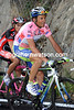 Basso looks regal and relaxed as the hardest stage of the Giro nears an end