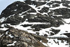 Don't look up - this is the escapers view of the last five-kilometres of the Gavia...
