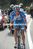 And win he will - Tschopp is within two-kilometres of the Passo Tonale...!