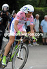Ivan Basso placed 15th at 42-seconds - but he still he wins the Giro d'Italia..!