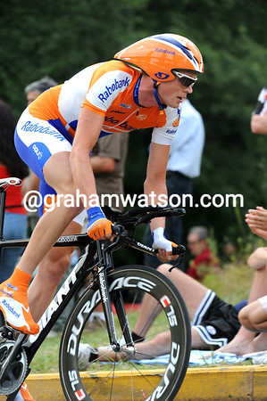 Tom Stamsnijder took 10th at 37-seconds, the young Dutchman wasn't in contention overall...