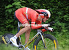 Stylish and faster - Lars Bak swoops down to Lake Leman to take 49th at 29-secpnds...