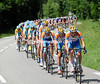 Finally there's life - and a chase - in the peloton with Garmin-Transitions leading the way...