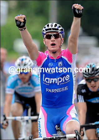 Grega Bole of Slovenia wins stage one ahead of Peter Velits of Slovakia - the world order of professional cycling is changing..! Contador stays in the race-lead...