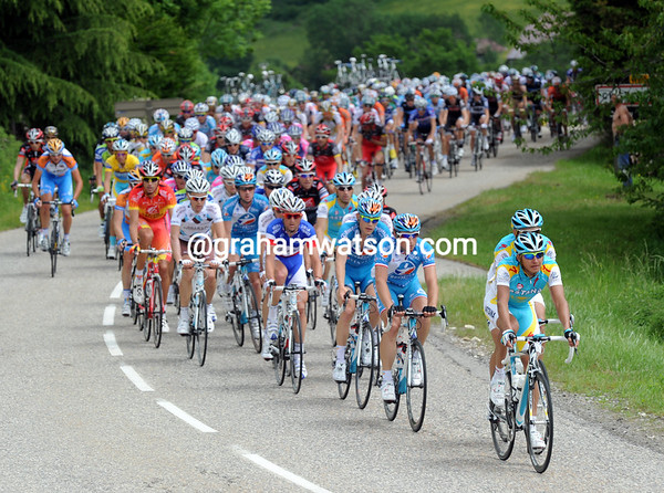 Astana is at the front but barely sweating under the strain...