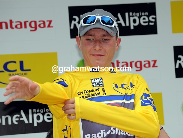 Janez Brajkovic is the new race-leader of the Dauphiné - and the Slovenian might just win it too..!