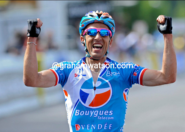 Nicholas Vogondy wins stage four to Risoul!