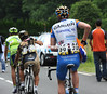 Thomas Peterson is that hungry it looks as if he has taken a Rabobank musette by mistake..!