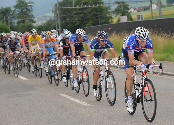 The sprinters' teams make sure Hesjedal fails...