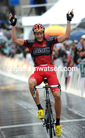 Marcus Burghardt wins stage five after a last-kilometre attack...