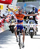 Robert Gesink wins stage six into La Punt - at last a great win for the Dutchman...