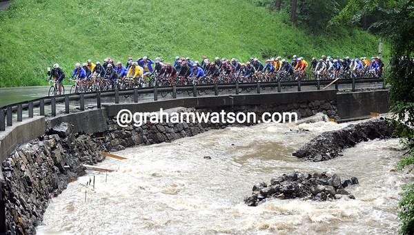 As the Tour de Suisse knows to its cost, there is never such a thing as a drought in Switzerland..!
