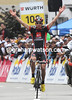 Rui Faria da Costa wins stage eight into Liestal
