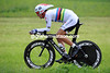 Fabian Cancellara almost won today's closing time trial - the World Champion placed second at 17-seconds...