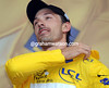 """For how many days?"", Fabin Cancellara must be thinking - the Swiss dons yet another Yellow Jersey after his Prologue win..."