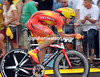 Luis Leon Sanchez took 22nd as champion of Spain - but he lost by 39-seconds..