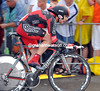 Cadel Evans was well placed in 23rd, at 39-seconds...