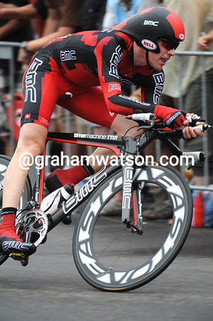 Brent Bookwalter raced fast to take11th place at 35-seconds...